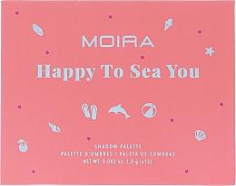 Voňavky, Parfémy, kozmetika Paleta očných tieňov  - Moira Happy To Sea You Shadow Palette