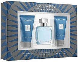 Voňavky, Parfémy, kozmetika Sada - Azzaro Chrome (edt/30ml + shm/50ml + balm/50ml)