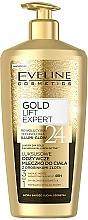 Voňavky, Parfémy, kozmetika Telové mlieko so zlatými časticami - Eveline Cosmetics Gold Lift Expert 24K