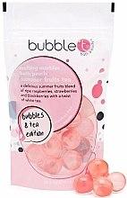 """Voňavky, Parfémy, kozmetika Kúpeľové perly """"Letný ovocný čaj"""" - Bubble T Bath Pearls Summer Fruits Tea Melting"""