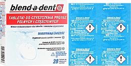 Voňavky, Parfémy, kozmetika Čistiace tablety pre zubné protézy - Blend-A-Dent