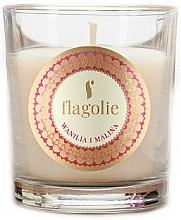 """Voňavky, Parfémy, kozmetika Vonná sviečka """"Vanilka a malina"""" - Flagolie Fragranced Candle Vanilla And Raspberry"""