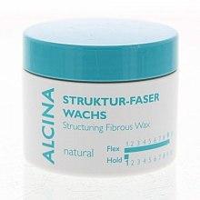 Voňavky, Parfémy, kozmetika Vosková vláknitý prírodná fixácia - Alcina Natural Struktur Faser Wachs