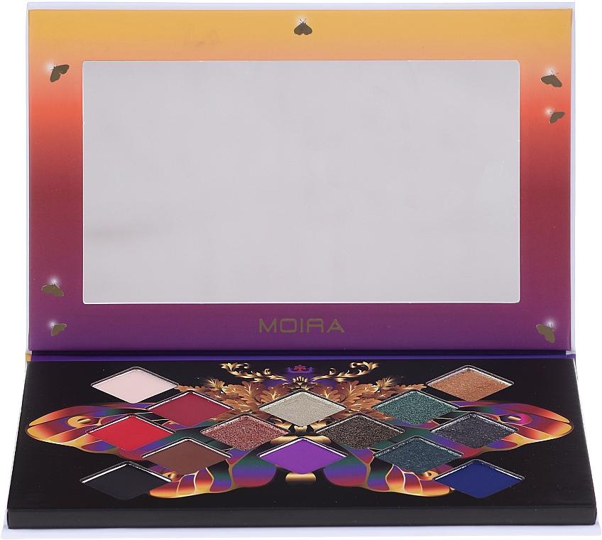 Paleta očných tieňov - Moira Soul of Fire Shadow Palette