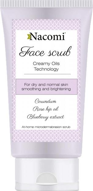 Peeling pre tvár - Nacomi Face Peeling Bilberry
