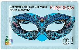 Voňavky, Parfémy, kozmetika Hydrogélová maska na oči - Purederm Carnival Look Eye Gel Mask Pure Butterfly