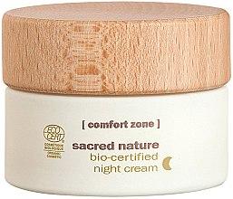 Voňavky, Parfémy, kozmetika Nočný krém - Comfort Zone Sacred Nature Bio-Certified Night Cream