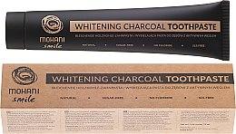 Voňavky, Parfémy, kozmetika Prírodná, bieliaca zubná pasta - Mohani Smile Whitening Charcoal Toothpaste