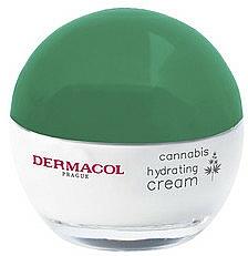 Upokojujúci a hydratačný krém s konopným olejom - Dermacol Cannabis Hydrating Cream — Obrázky N3