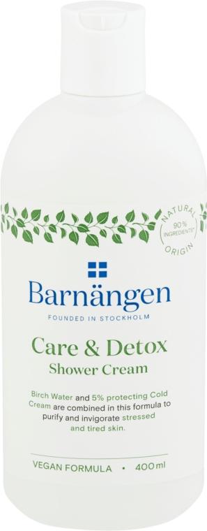 """Krémový gél do sprchy a kúpeľa """"Starostlivosť a detox"""" - Barnangen Care & Detox Shower Cream"""