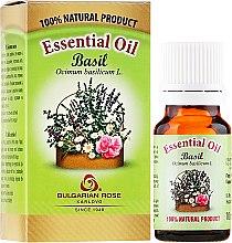 """Voňavky, Parfémy, kozmetika Esenciálny olej """"Bazalka"""" - Bulgarian Rose Basil Essential Oil"""