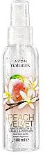 """Voňavky, Parfémy, kozmetika Sprej na telo """"Broskyňa"""" - Avon Naturals Peach"""