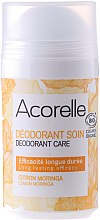 Voňavky, Parfémy, kozmetika Dezodorant - Acorelle Deodorant Care Limone & Moringa