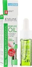 Voňavky, Parfémy, kozmetika Aromatický olej na nechtovú kožičku a nechty - Eveline Cosmetics Nail Therapy Professional Green Paradise