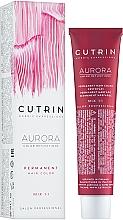 Voňavky, Parfémy, kozmetika Farba na vlasy - Cutrin Aurora Permanent Hair Color (4,7-čierna káva)