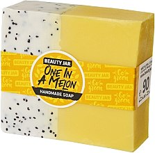 Voňavky, Parfémy, kozmetika Glycerínové mydlo s vôňou melónu - Beauty Jar One In A Melon Handmade Soap