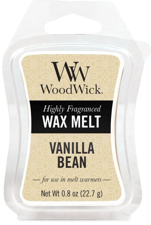 Vonný vosk - WoodWick Wax Melt Vanilla Bean — Obrázky N1