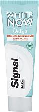 Voňavky, Parfémy, kozmetika Bieliaca zubná pasta s kokosovým extraktom - Signal White Now Detox Toothpaste