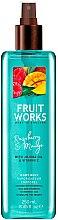 """Voňavky, Parfémy, kozmetika Sprej na telo """"Malina a mango"""" - Grace Cole Fruit Works Raspberry & Mango Body Mist"""