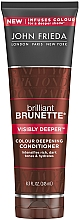 Voňavky, Parfémy, kozmetika Kondicionér na tmavé vlasy - John Frieda Brilliant Brunette Visibly Deeper Conditioner