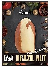 Voňavky, Parfémy, kozmetika Intenzívne výživná maska - Quret Beauty Recipe Mask Brazil Nut Nourishing