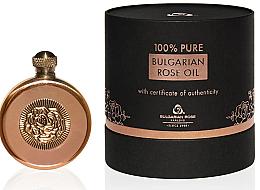 Voňavky, Parfémy, kozmetika Prírodný ružový olej v medenej nádobe - Bulgarian Rose Oil