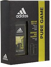 Voňavky, Parfémy, kozmetika Adidas Pure Game - Sada (deo/75ml +sh/gel/250ml)