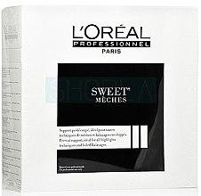 Voňavky, Parfémy, kozmetika Servítky na vlasy, 50m - L'oreal Professionnel Sweet Meches