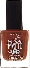 Voňavky, Parfémy, kozmetika Lak na nechty - Avon Nail Style Studio Mark Satin Matte Nail Enamel Polish