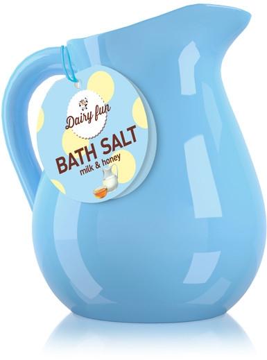 Soľ do kúpeľa, mlieko a med - Delia Dairy Fun Bath Salt