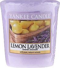 """Voňavky, Parfémy, kozmetika Vonná sviečka """"Lemon a levanduľe"""" - Yankee Candle Scented Votive Lemon Lavender"""