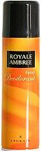 Voňavky, Parfémy, kozmetika Legrain Royale Ambree - Dezodoračný sprej