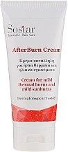 Voňavky, Parfémy, kozmetika Krém na ľahké slnečné a tepelné popáleniny - Sostar After Burn Cream