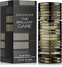 Voňavky, Parfémy, kozmetika Davidoff The Brilliant Game - Toaletná voda