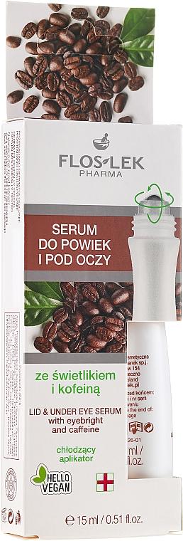 Sérum na viečka a pokožku očného okolia s očiankou a kofeínom - Floslek Eye Care Serum