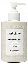 Voňavky, Parfémy, kozmetika Lotion na ruky - Estelle & Thild Citrus Menthe Hand Lotion