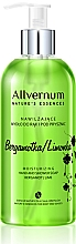 """Voňavky, Parfémy, kozmetika Mydlo na ruky a do sprchy """"Bergamot a lime"""" - Allverne Nature's Essences Hand And Shower Soap"""