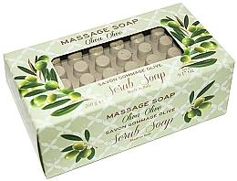 "Voňavky, Parfémy, kozmetika Mydlo-peeling pre masáž ""Olivový"" - Gori 1919 Massage Scrub Soap Olive"