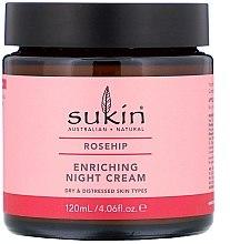 Voňavky, Parfémy, kozmetika Výživný nočný krém - Sukin Rosehip Enriching Night Cream