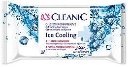 Voňavky, Parfémy, kozmetika Osviežujúce obrúsky, 15 ks - Cleanic Ice Cooling Wipes