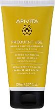 Voňavky, Parfémy, kozmetika s harmančekom a medom - Apivita Gentle Daily Conditioner For All Hair Types With Chamomile & Honey