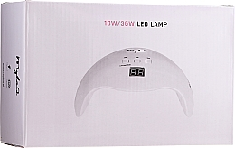 Voňavky, Parfémy, kozmetika LED lampa na sušenie gélu a gélového laku, 18W/36W - MylaQ