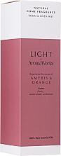 """Voňavky, Parfémy, kozmetika Domáci sprej """"Amiris a pomaranč"""" - AromaWorks Light Range Room Mist"""