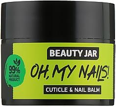 "Voňavky, Parfémy, kozmetika Balzam na nechty a nechtovú kožičku ""Oh My Nails!"" - Beauty Jar Cuticle&Nail Balm"
