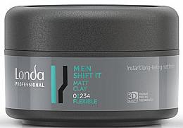 Voňavky, Parfémy, kozmetika Matná hlina pre normálnu fixáciu vlasov - Londa Professional Men Shift It Matt Clay