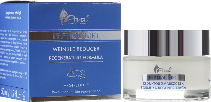 Peptid regeneráčný krém proti vráskam - Ava Laboratorium Peptide Lift Cream