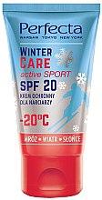 Voňavky, Parfémy, kozmetika Zimný ochranný krém - Perfecta Winter Care Active Sport SPF20