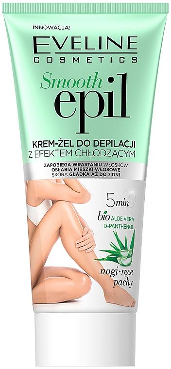 Depilačný krémový gél s chladivým účinkom - Eveline Cosmetics Smooth Epil