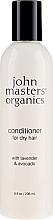 """Voňavky, Parfémy, kozmetika Kondicionér pre suché vlasy """"Levanduľa a avokádo"""" - John Masters Organics Conditioner For Dry Hair Lavender & Avocado"""