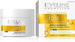 Voňavky, Parfémy, kozmetika Regeneračný krém na tvár - Eveline Cosmetics Skin Care Expert 3 Oils Cream